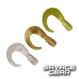 Savage Gear Hard Eel Tail 3D 25cm 3Pcs Gold//Silver//Chart Long Tails