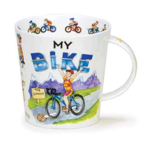 Dunoon Cairngorm Fine Bone China Mug - My Bike