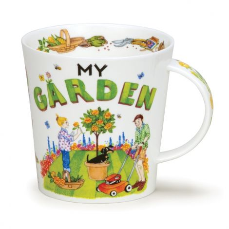 Dunoon Cairngorm Fine Bone China Mug - My Garden