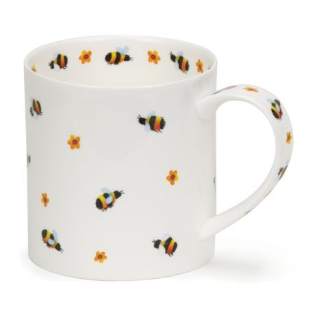 Dunoon Orkney Fine Bone China Mug Flutterby - Busy Bees