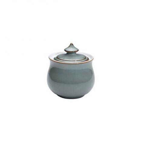 Denby Regency Green Covered Sugar Bowl