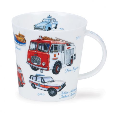 Dunoon Cairngorm Fine Bone China Mug - Emergency Services
