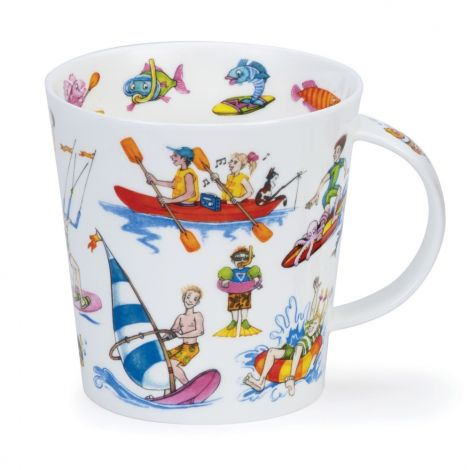 Dunoon Cairngorm Fine Bone China Mug - Troubled Waters