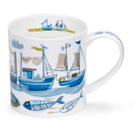 Dunoon Orkney Fine Bone China Mug - Beachcomber Boat