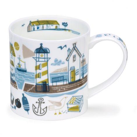 Dunoon Orkney Fine Bone China Mug - Beachcomber Lighthouse