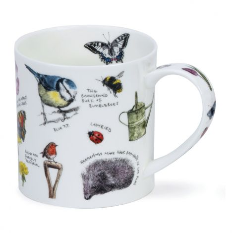 Dunoon Orkney Fine Bone China Mug - Country Notebook Garden