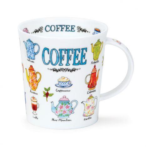 Dunoon Lomond Fine bone china mug - Coffee