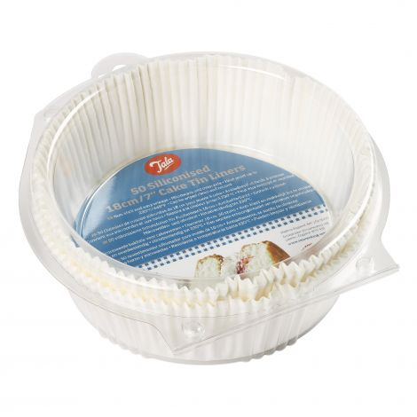 Tala 50 Siliconised 20cm Cake Tin Liners
