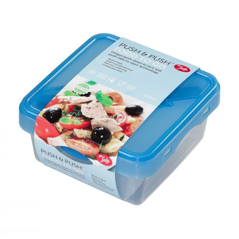 Tala Push & Push Food Container with Cutlery Set
