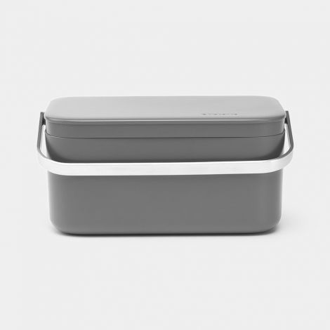 Brabantia Food Waste Caddy - Grey