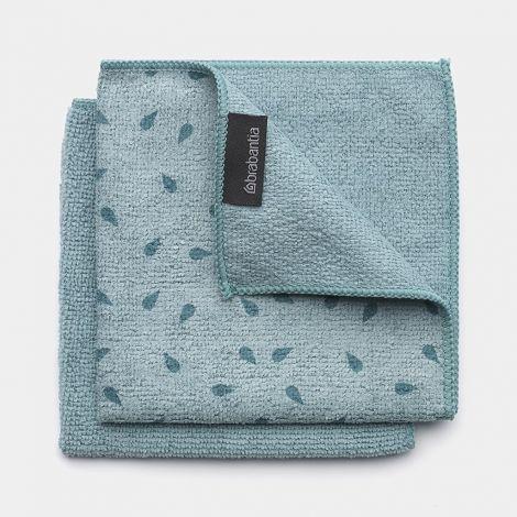 Brabantia Microfibre Dish Cloth Set of 2 - Mint