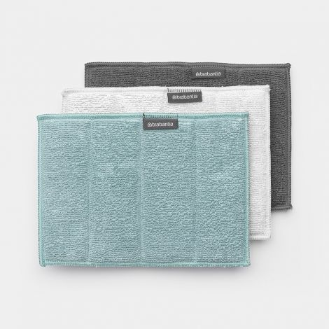 Brabantia Microfibre Cleaning Pads Set of 3