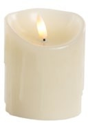 Jingles LED Dipping Wax Christmas Candle - Battery Operated 10cm