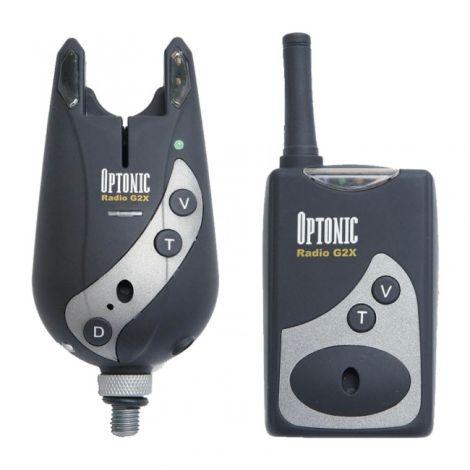 Sunridge G2X Radio Optonic Bite Alarm - G2X4HS