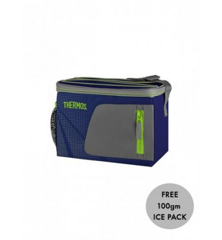 Thermos Radiance Individual 6 Can Cool Bag Navy