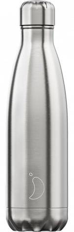 Chilly's Hot/Cold Water Bottle 500ml - Stainless Steel