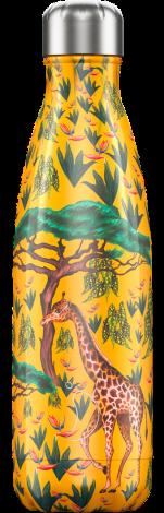 Chilly's Hot/Cold Water Bottle 500ml - Giraffe