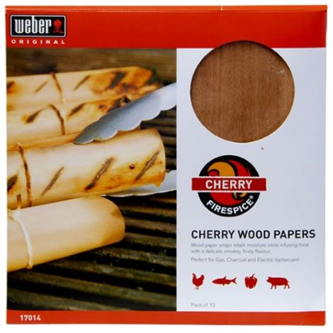 Weber Firespice Wood Papers - Cherry