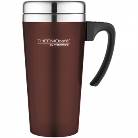 Thermos ThermoCafe Soft Touch Travel Mug 420ml Paprika