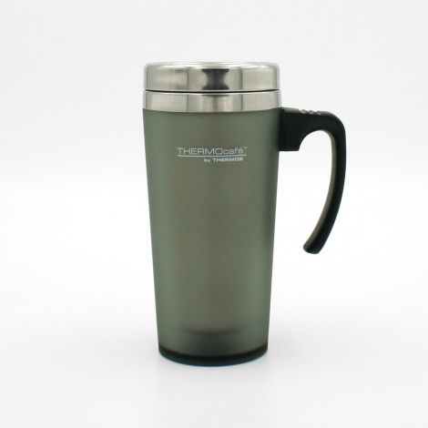 Thermos ThermoCafe Soft Touch Travel Mug 420ml Moss