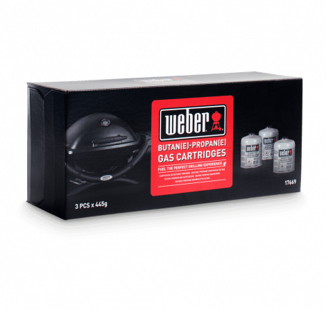Weber® Disposable Gas Canister - 3 pack