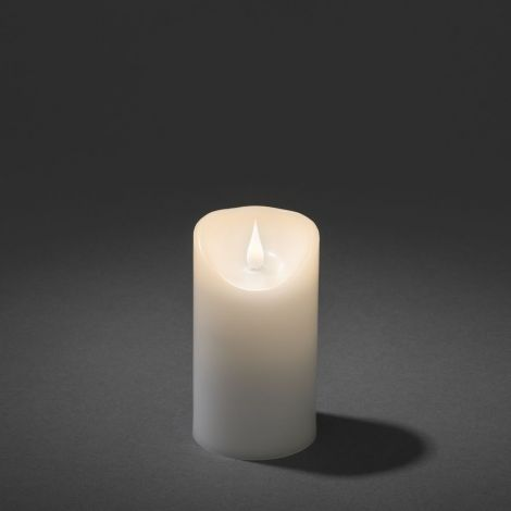 Konst Smide LED Wax Christmas Candle 7.6 x 12.7cm