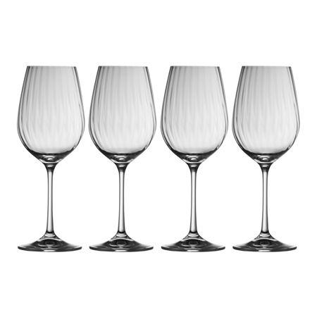 Belleek Galway Living Erne Wine Glass Set Of 4