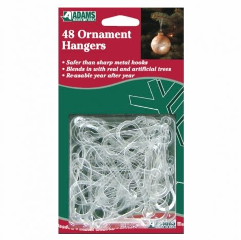 Adams Safety Ornament Hangers - 48 pack
