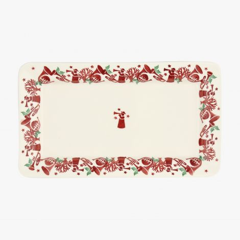 Emma Bridgewater emma bridgewater Joy Trumpets Medium Oblong Plate