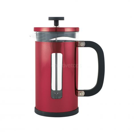 La Cafetiere Pisa 3 Cup Cafetiere Red