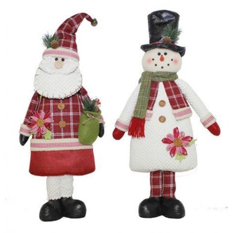 Enchante Folk Art Christmas Character - Assorted