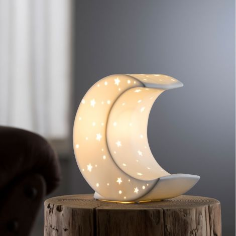 Belleek Living Crescent Moon - Luminaire