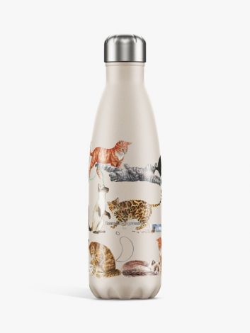 Chilly's Hot/Cold Water Bottle 500ml Emma Bridgewater Cats