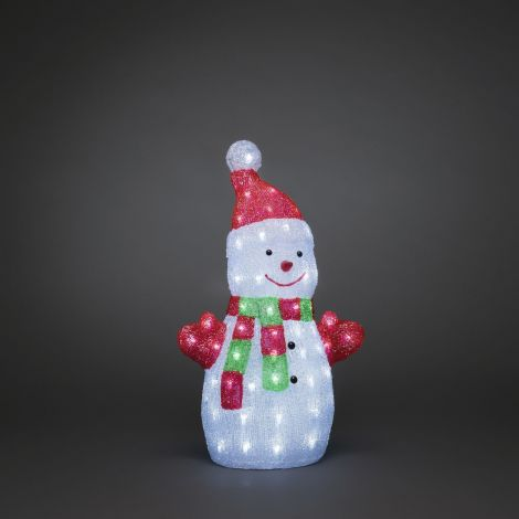 Konst Smide Acrylic Christmas LED Snowman - Variation
