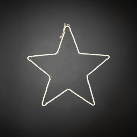 Konst Smide Christmas Silhouette Star LED Rope Light