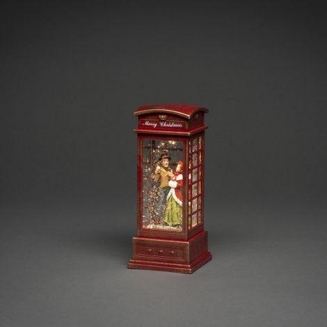 Konst Smide Christmas Water Lantern Telephone Box - Telephone Booth