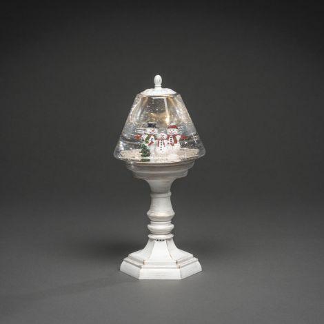 Konst Smide Christmas Santa Table Lamp - White Snowmen