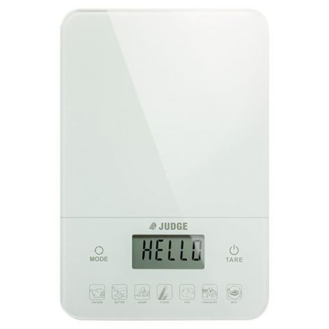 Judge Kitchen Scales 10kg Diet Scales