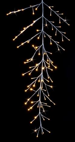 Jingles 1.5m LED Snowy Christmas Garland - Warm White