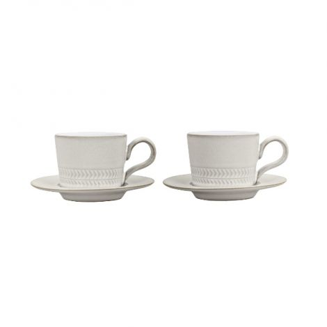 Denby Natural Canvas Espresso Set