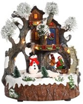 Jingles Battery Operated LED Christmas House Decoration