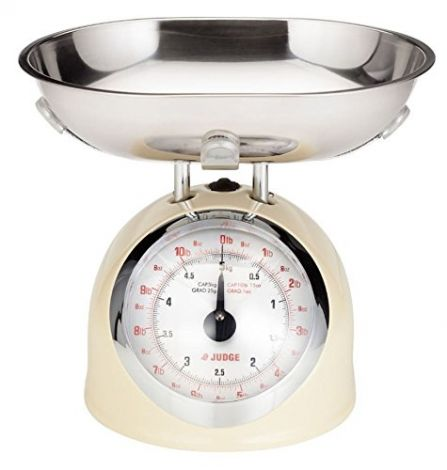 Judge Traditional Cream Scale 5kg