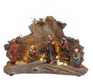 Jingles Christmas Nativity Scene Decoration