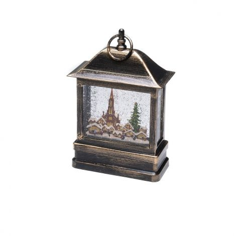 Konst Smide Christmas Water Lantern with Christmas Market