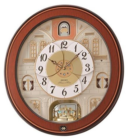 Seiko Melody in Motion Wall Clock 53 x 49 x 15cm