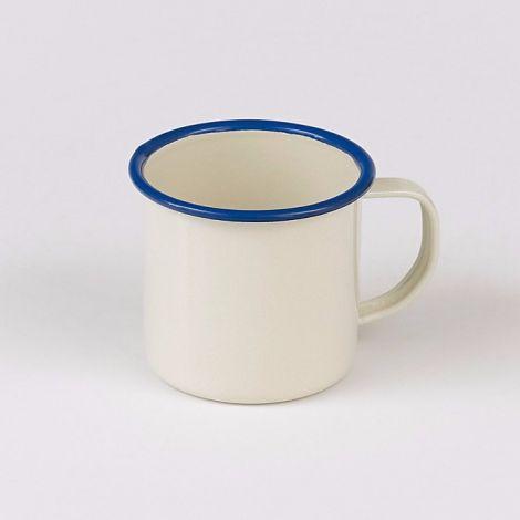 Victor Enamel Blue Rim Mug