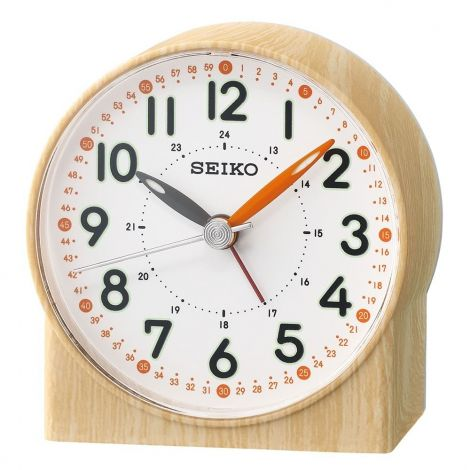 Seiko Orange Lumibrte Alarm Clock