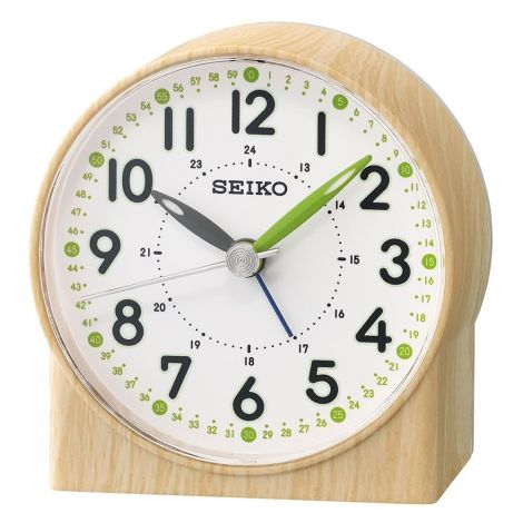 Seiko Green Lumibrite Alarm Clock