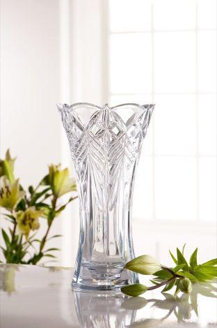 "Belleek Galway Crystal Symphony 10"" Vase"