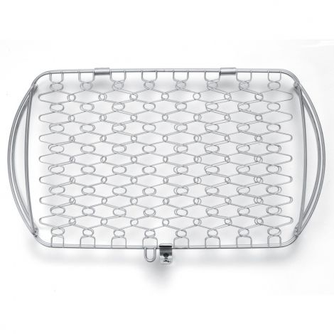 Weber® Large Stainless Steel Grilling Basket